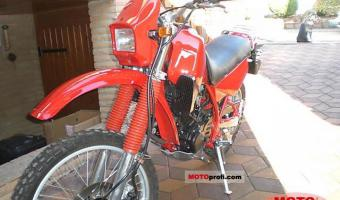 1987 Yamaha XT 350 (reduced effect)