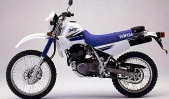 1989 Yamaha XT 350 (reduced effect) #1