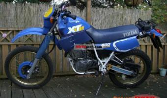1990 Yamaha XT 600 E (reduced effect)