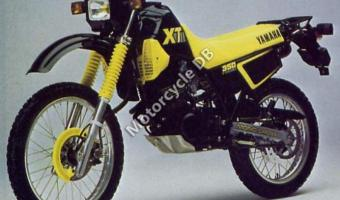 1991 Yamaha XT 600 K (reduced effect)