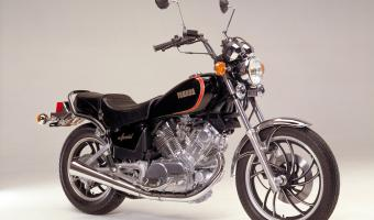 1981 Yamaha XV 750 Special (reduced effect)