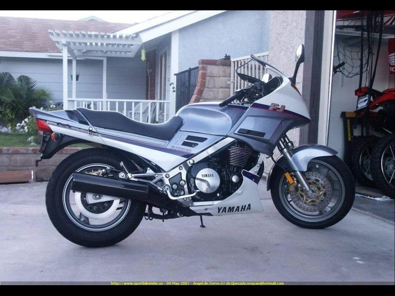 Review of Yamaha FJ 1200 (reduced effect) 1987: pictures