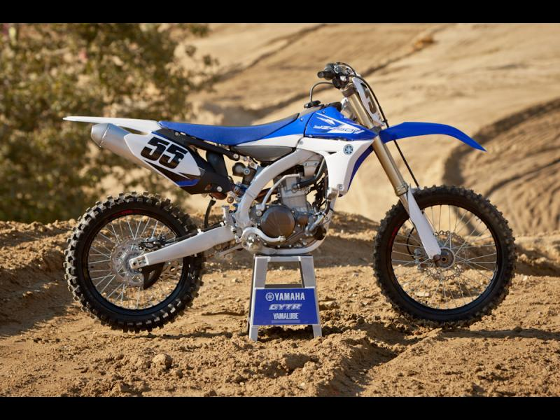 2018 Yamaha YZ450F - A dirt bike you can tune using your