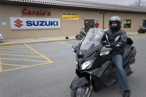 2010 Suzuki Burgman 650 ABS Executive #3