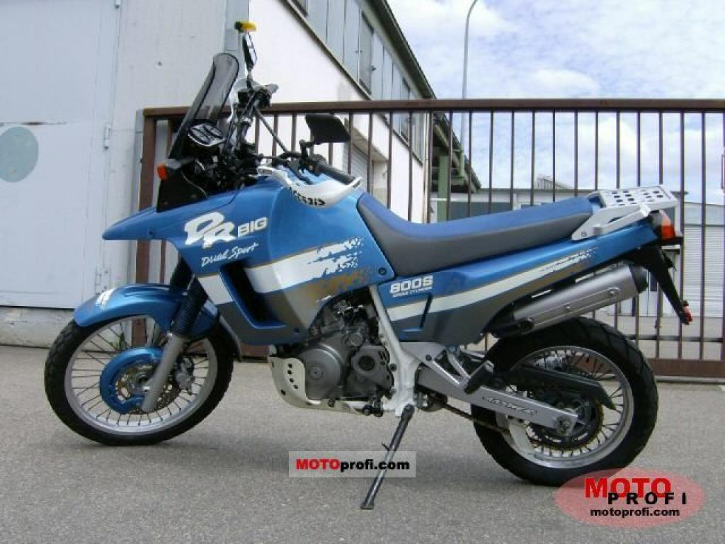 Suzuki DR 600 R Dakar (reduced effect) #2