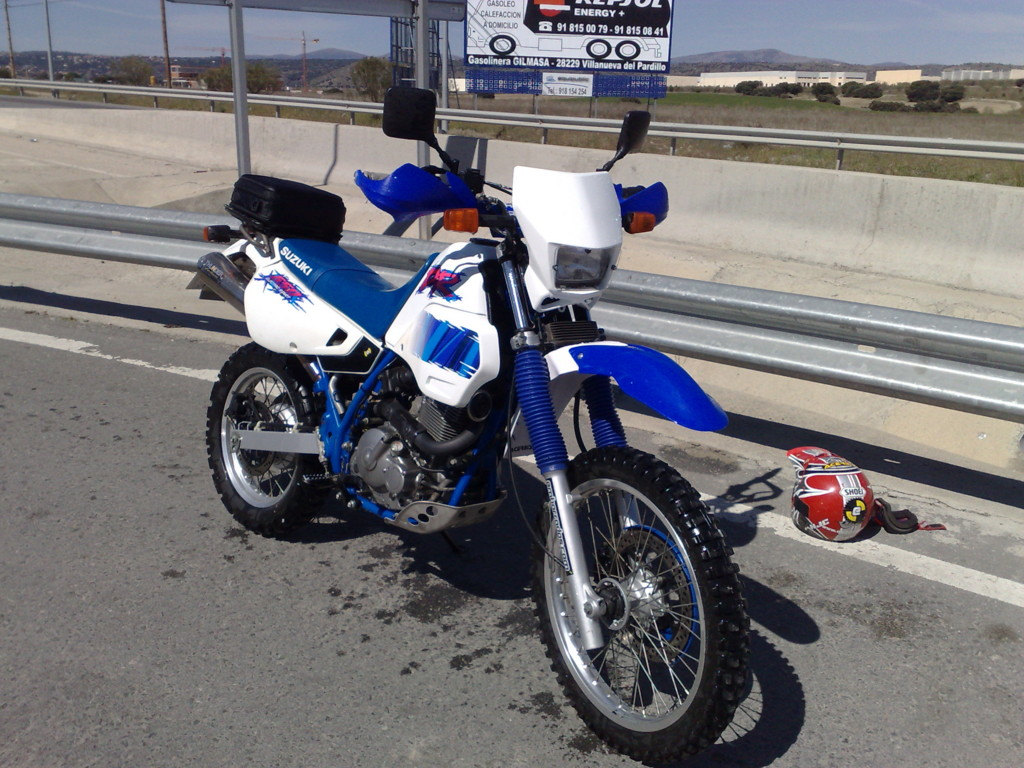 Suzuki DR 600 R Dakar (reduced effect) #1