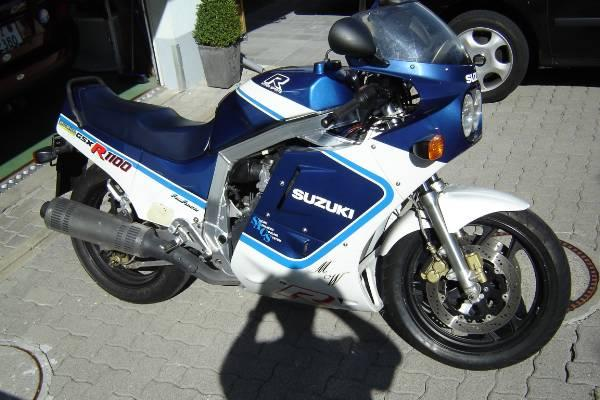 1986 Suzuki GSX 1100 EF (reduced effect) #6