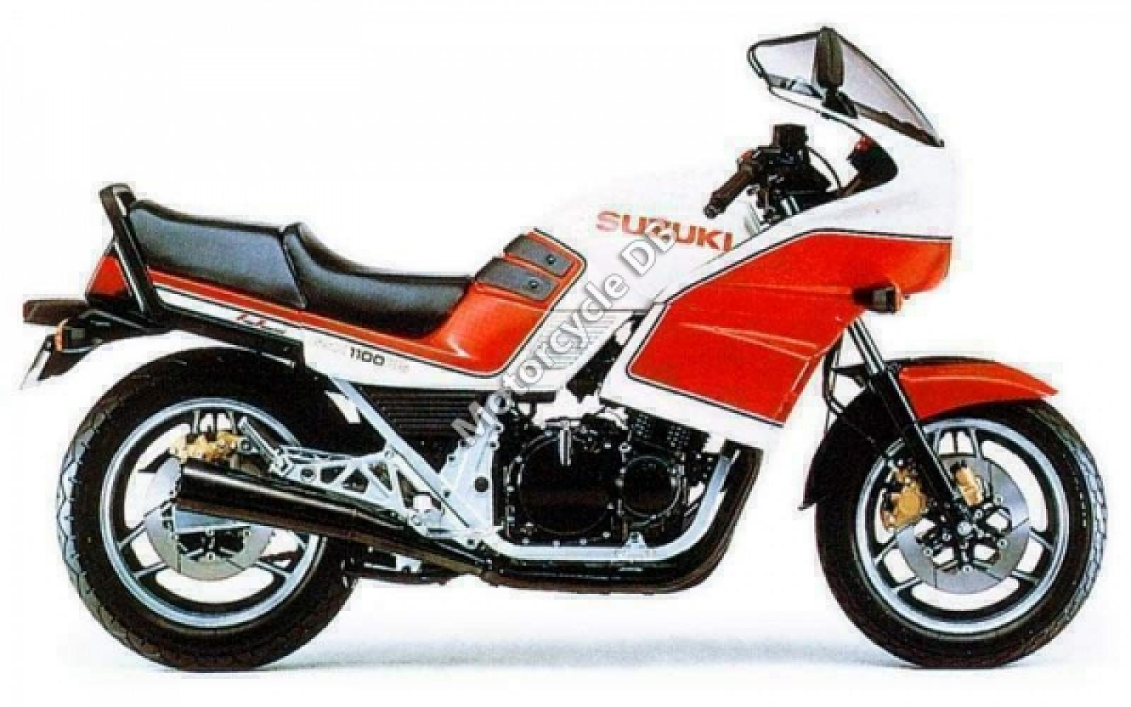 1986 Suzuki GSX 1100 EF (reduced effect) #4