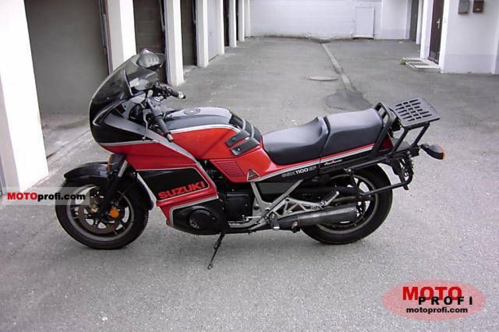 1986 Suzuki GSX 1100 EF (reduced effect) #2