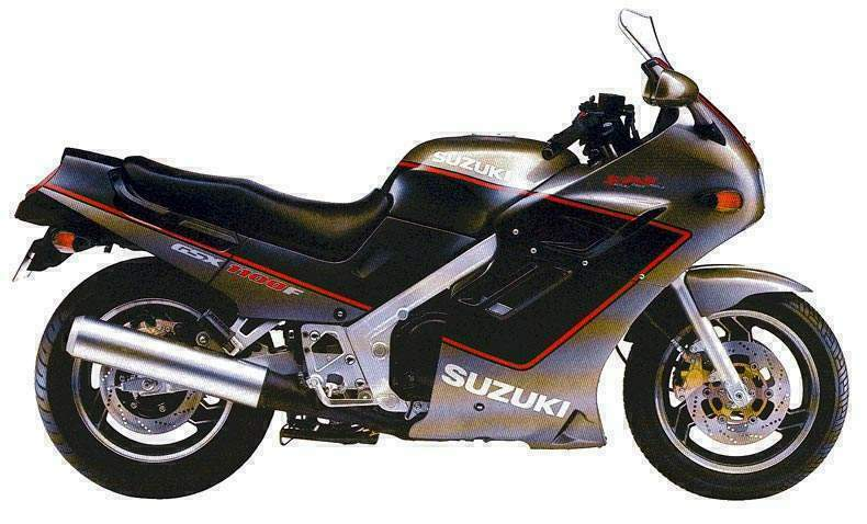 1986 Suzuki GSX 1100 EF (reduced effect) #3