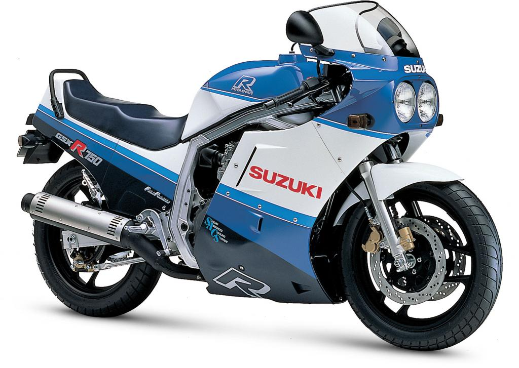 1986 Suzuki GSX 1100 EF (reduced effect) #5