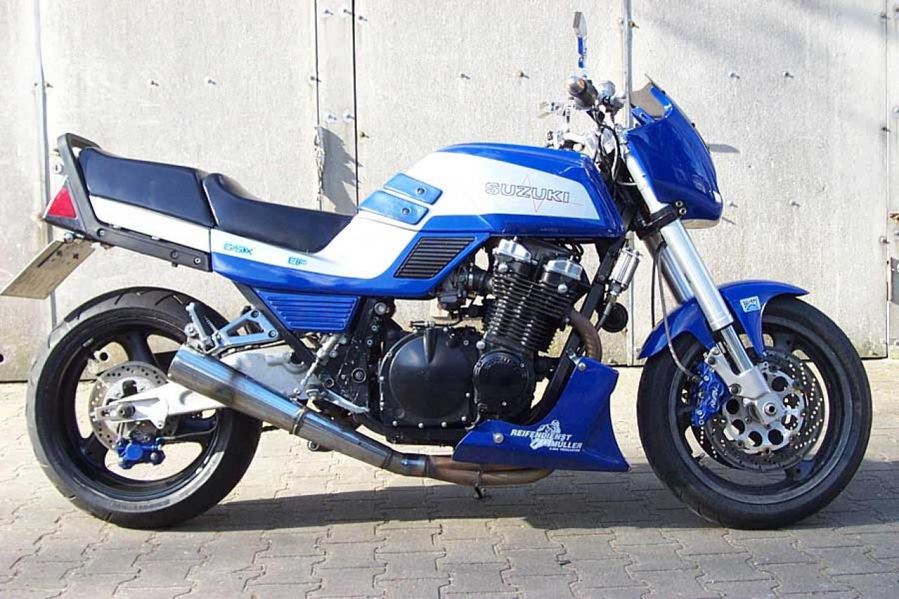 1986 Suzuki GSX 1100 EF (reduced effect) #8