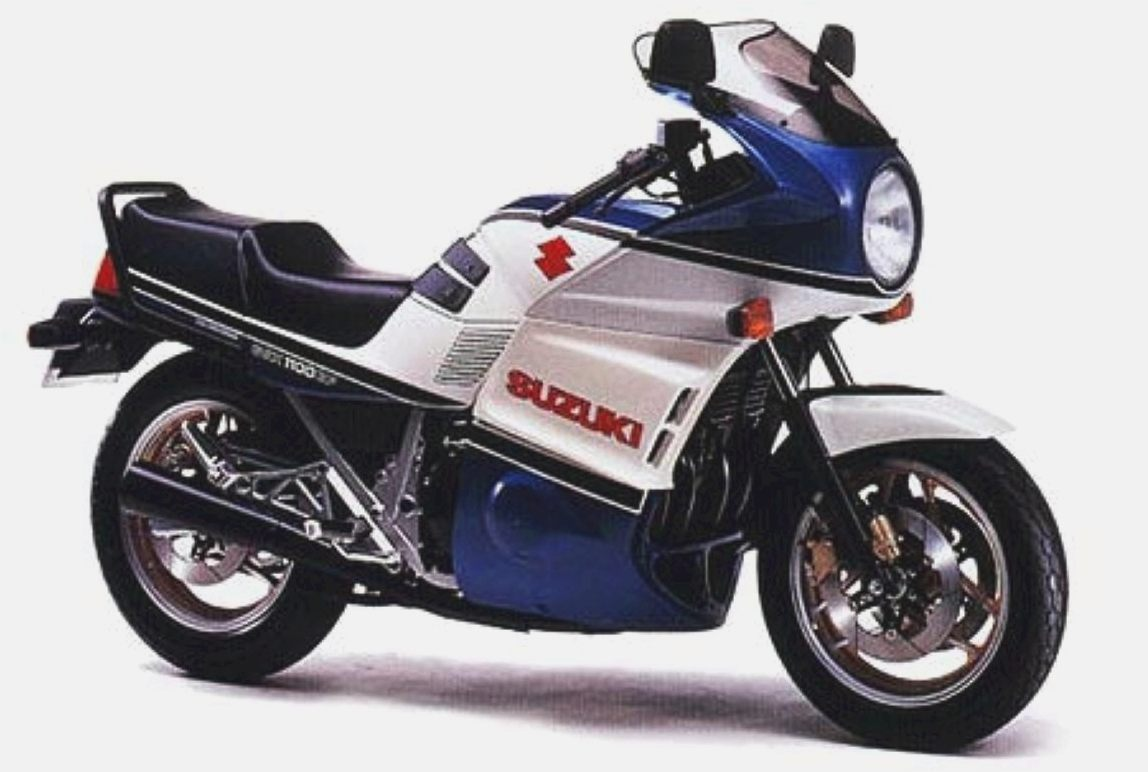 1987 Suzuki GSX 1100 EF (reduced effect) #2