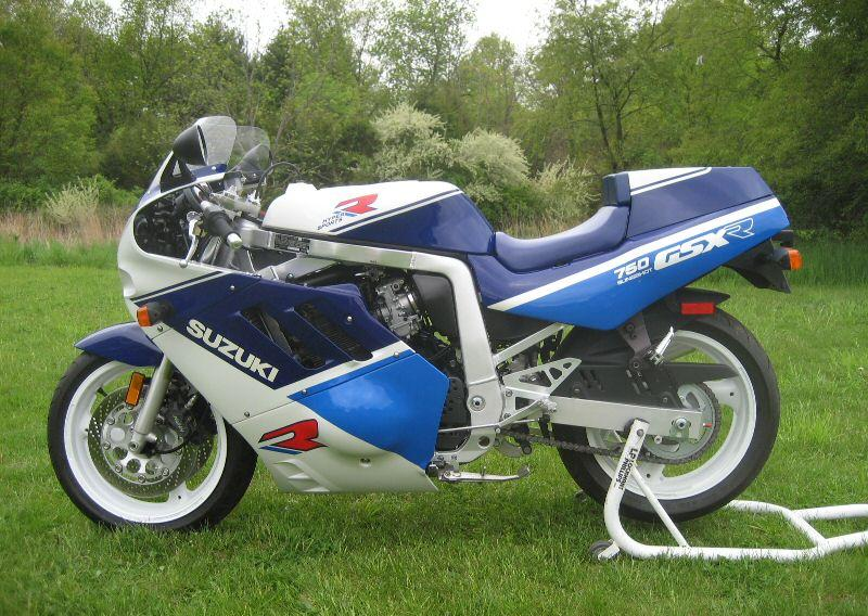 1988 Suzuki GSX-R 750 (reduced effect) #4