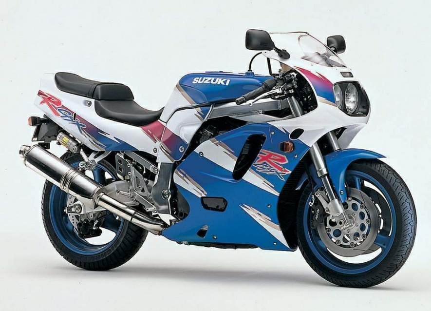 1991 Suzuki GSX-R 750 (reduced effect) #2
