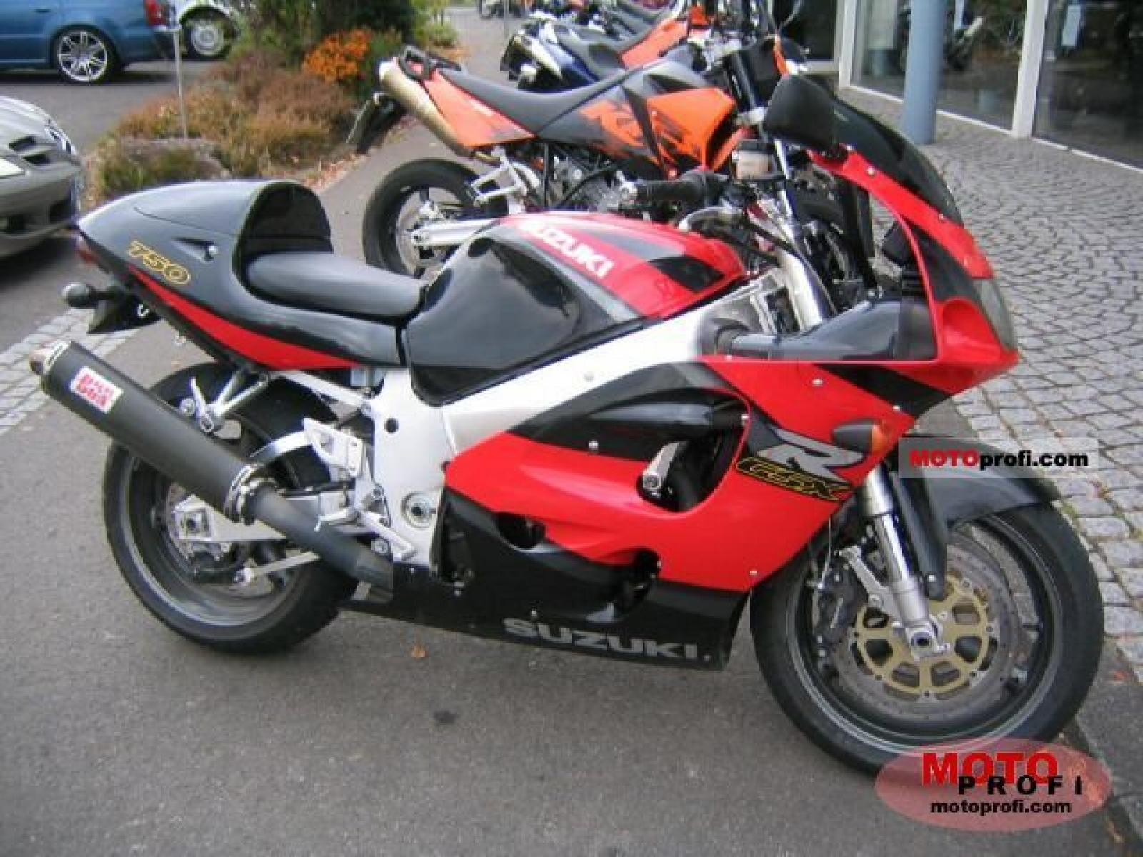 1992 Suzuki GSX-R 750 W (reduced effect) #2