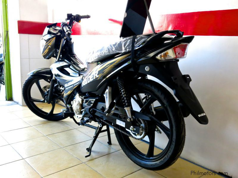 2014 Suzuki Raider J 115 Fi Photos, Informations, Articles - Bikes