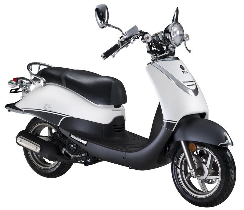 Sym Allo 125 Photos, Informations, Articles - Bikes