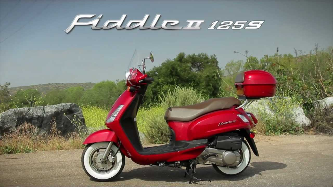Sym Fiddle II 125 #4
