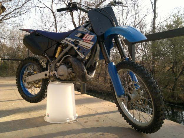 TM Racing MX 250 #4