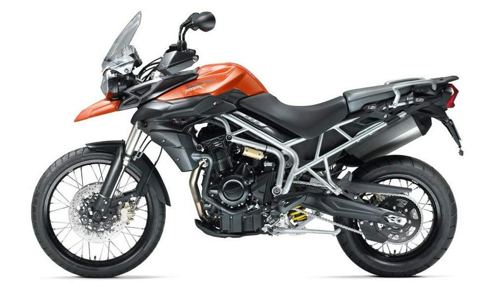 2011 Triumph New Tiger 800 #9
