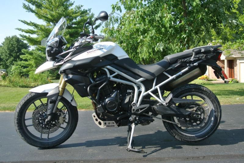 2011 Triumph New Tiger 800 #7