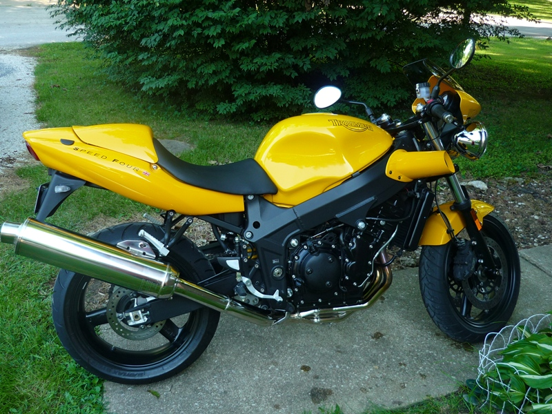 2005 Triumph Speed Four #9