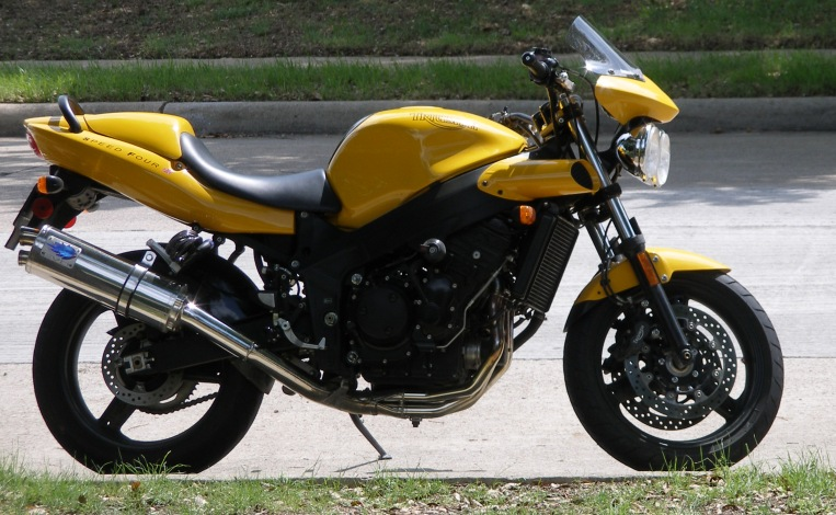 2005 Triumph Speed Four #2