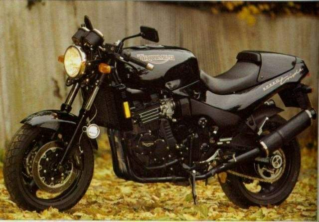 1996 Triumph Speed Triple 900 #10