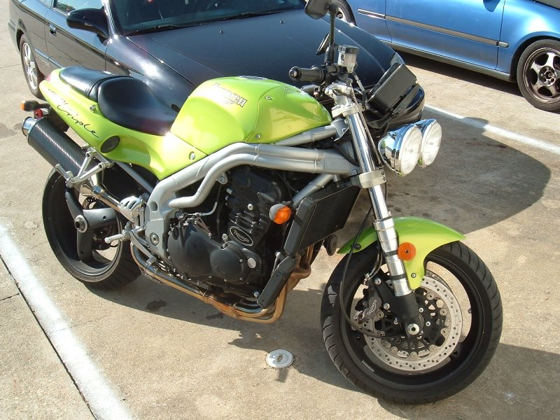 1999 Triumph Speed Triple #10