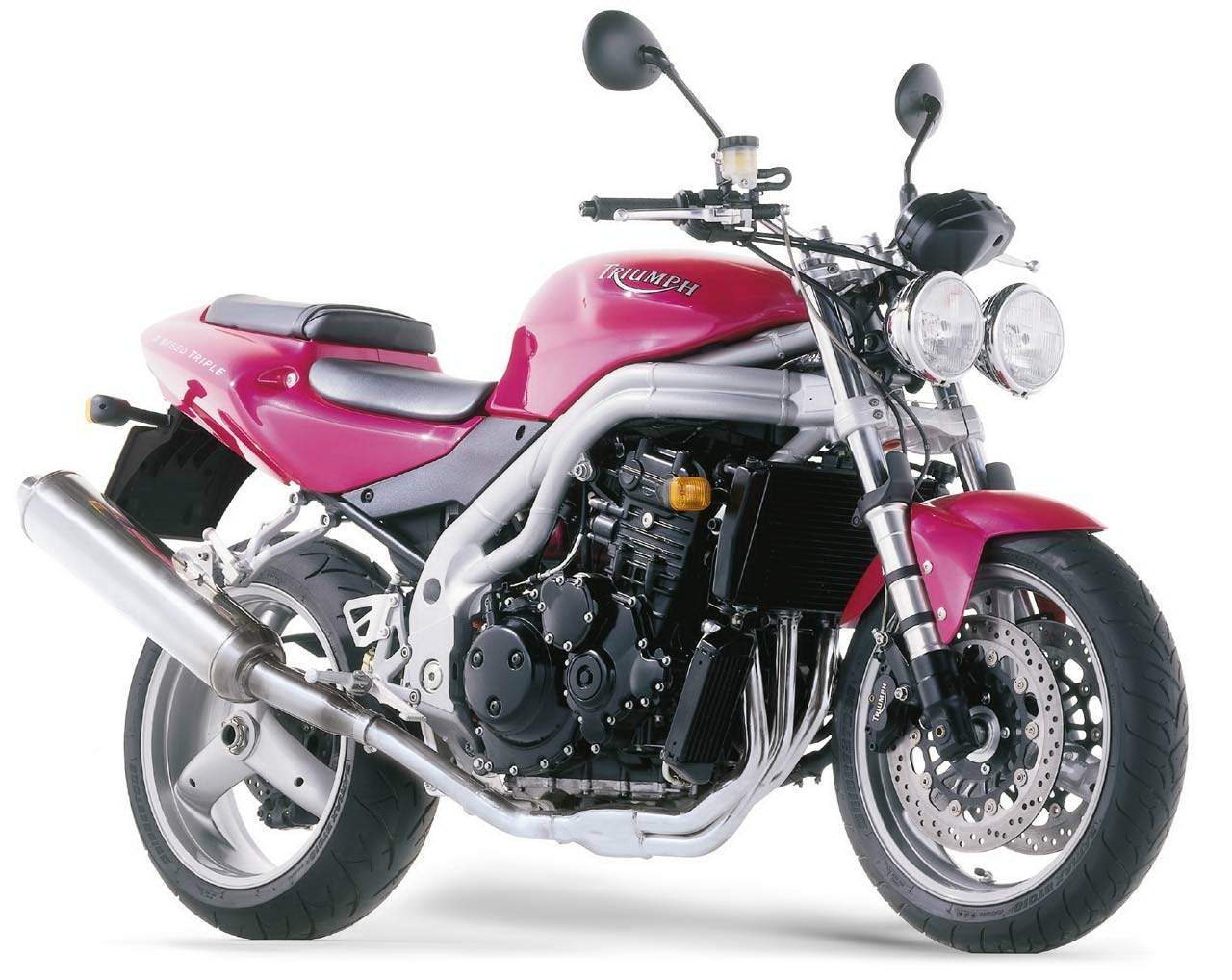2001 Triumph Speed Triple #9