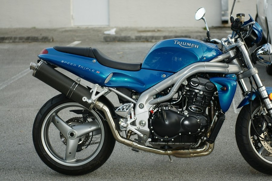 2001 Triumph Speed Triple #7
