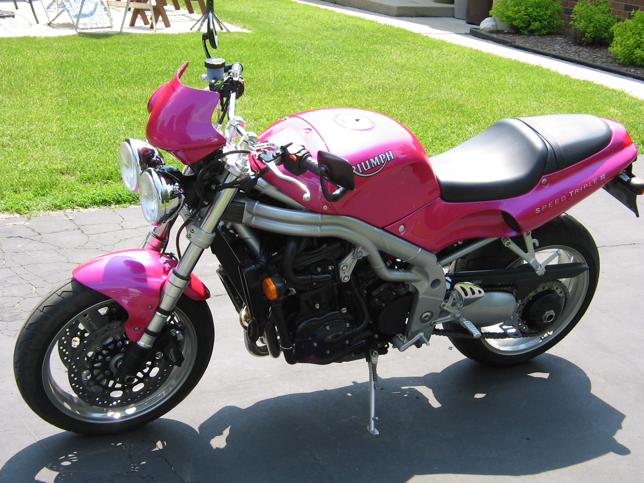2001 Triumph Speed Triple #8