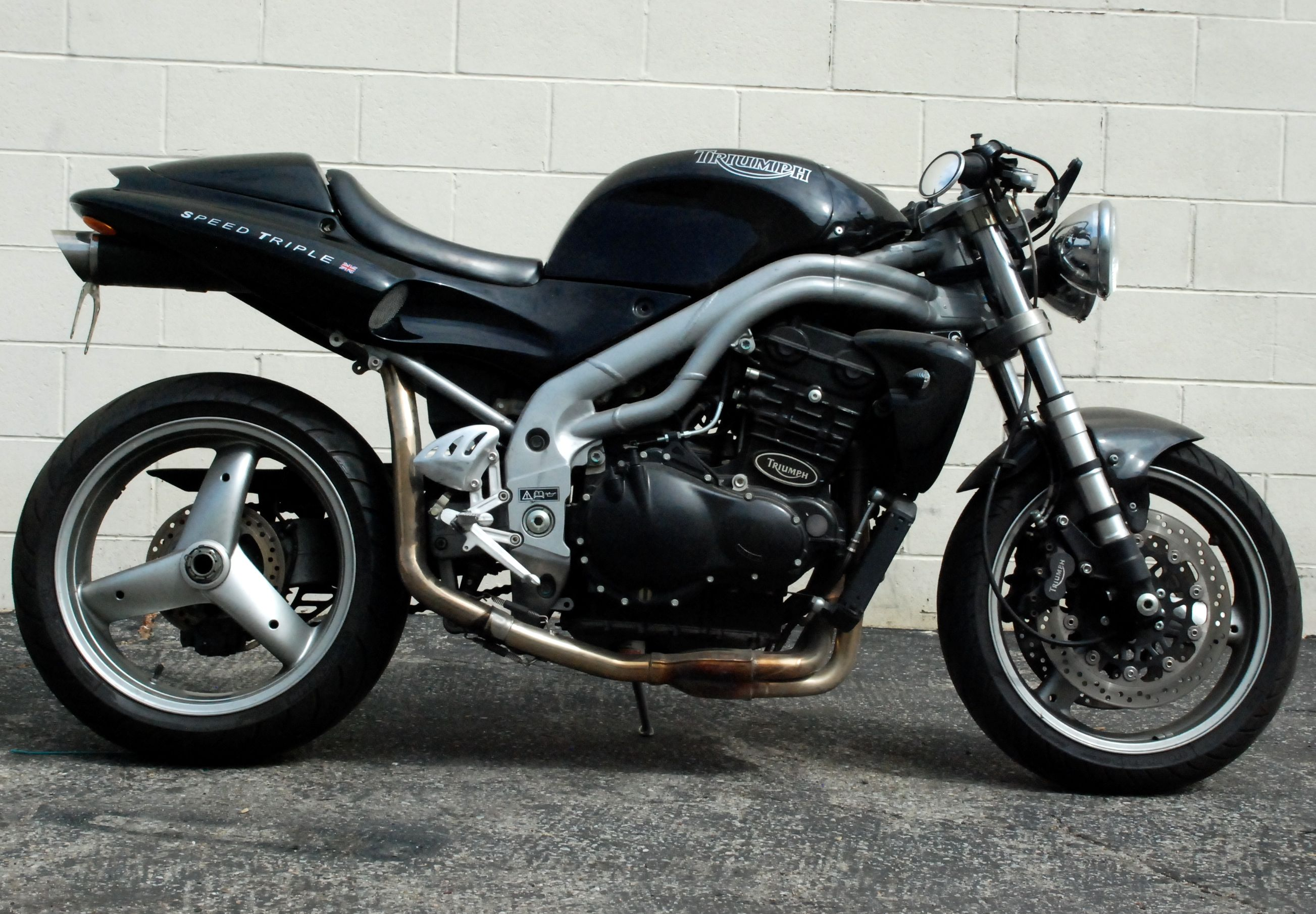 2001 Triumph Speed Triple #4