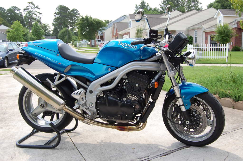 2001 Triumph Speed Triple #5