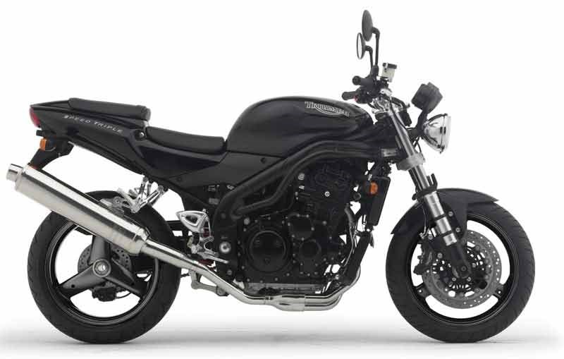 2001 Triumph Speed Triple #3