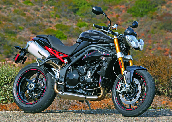 2012 Triumph Speed Triple #8
