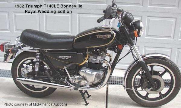 1983 Triumph T 140 E Bonneville Executive #2