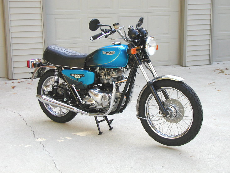 1983 Triumph T 140 E Bonneville Executive #8