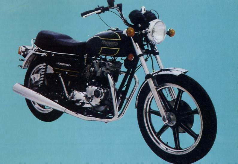 1981 Triumph T140 ES Bonneville Royal Limited Edition #4