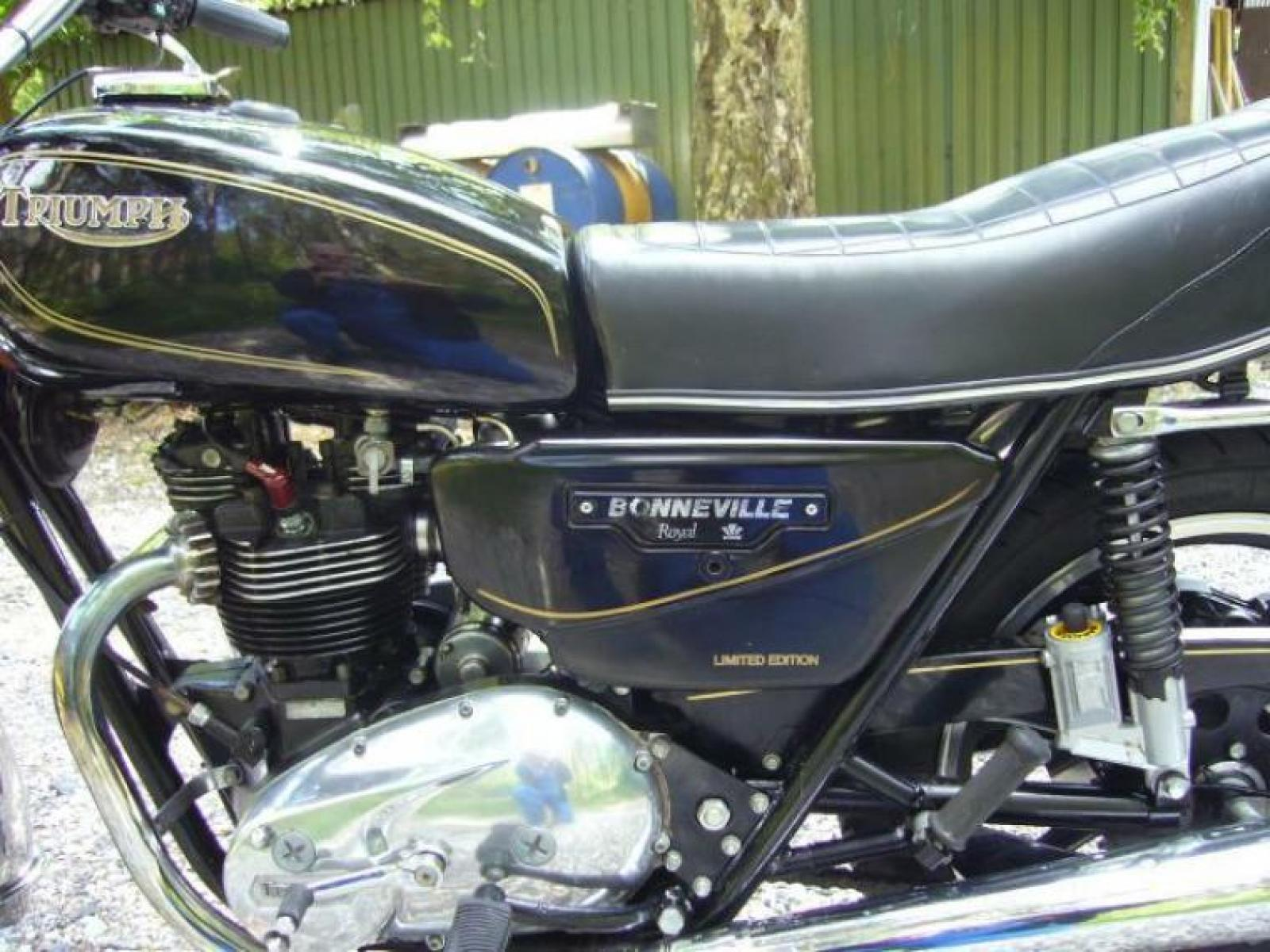 Triumph T140 ES Bonneville Royal Limited Edition #6