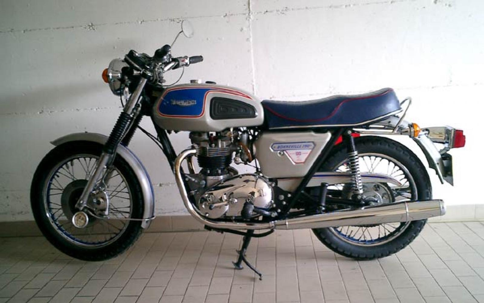 Triumph T140 ES Bonneville Royal Limited Edition #1