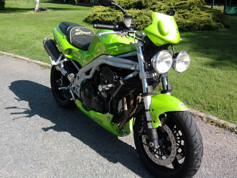 1998 Triumph T509 Speed Triple #5