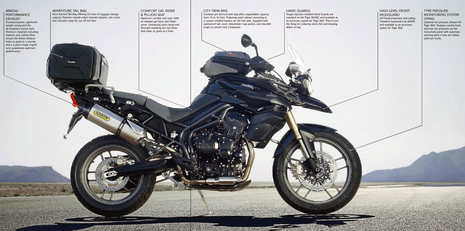 Triumph Tiger 800 ABS #1