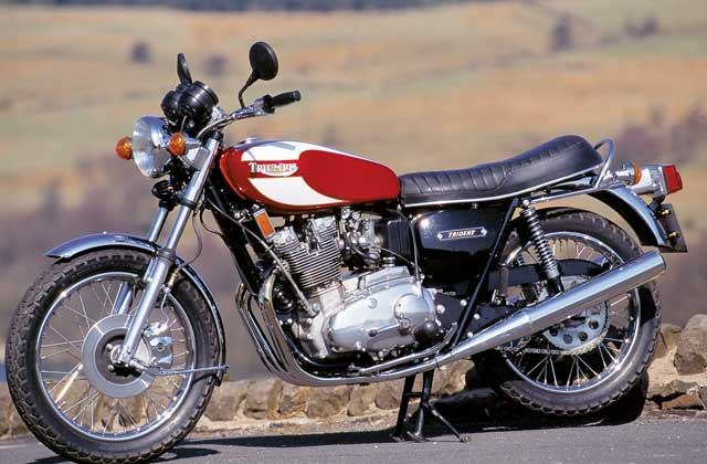 Triumph Trident 750 (reduced effect) #1