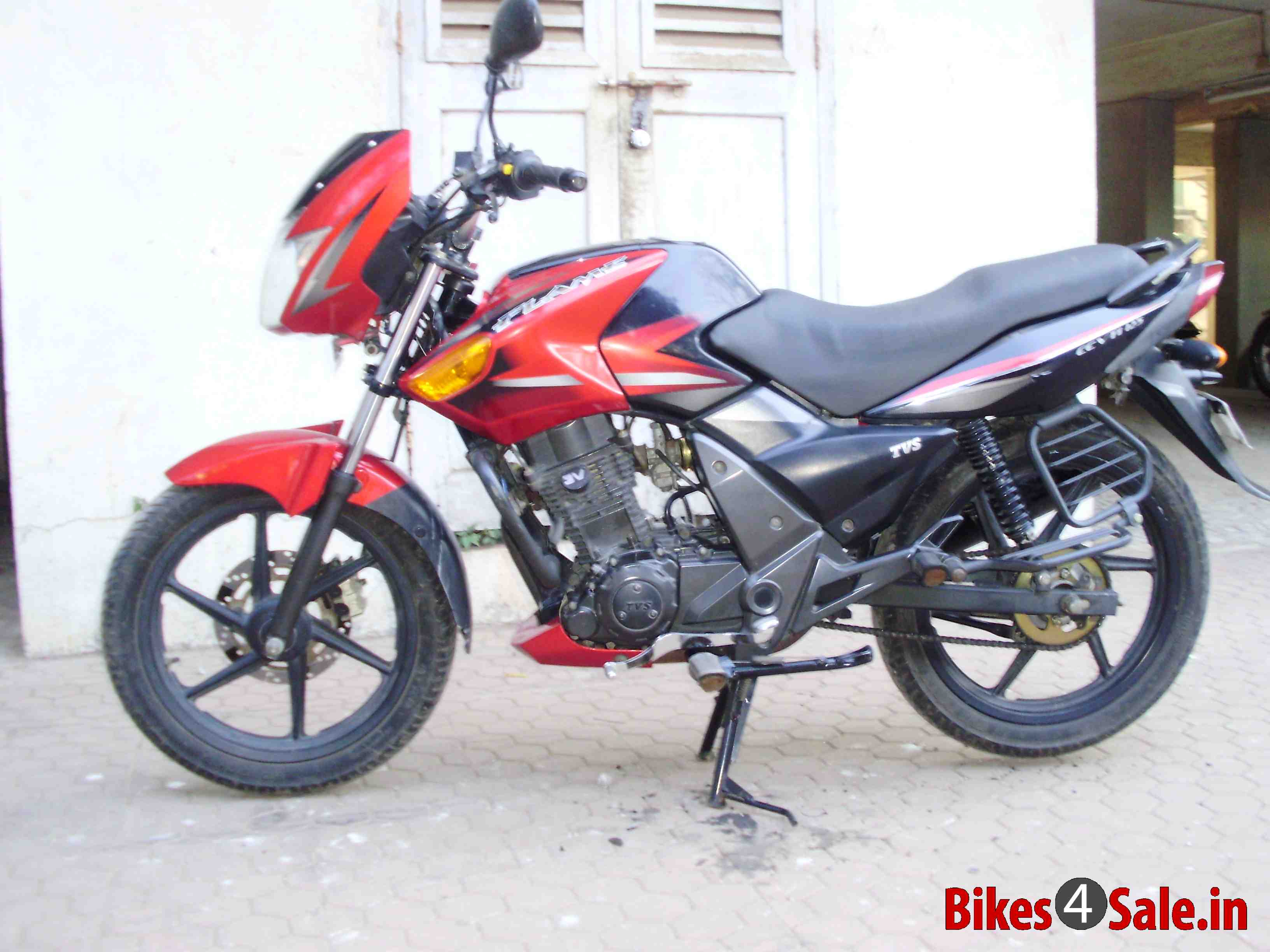 2011 TVS Flame DS 125 #10