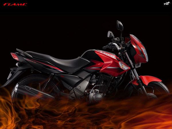 2011 TVS Flame DS 125 #6