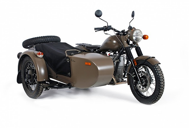 1980 Ural M-63 (with sidecar) #6