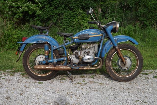 1980 Ural M-63 (with sidecar) #1