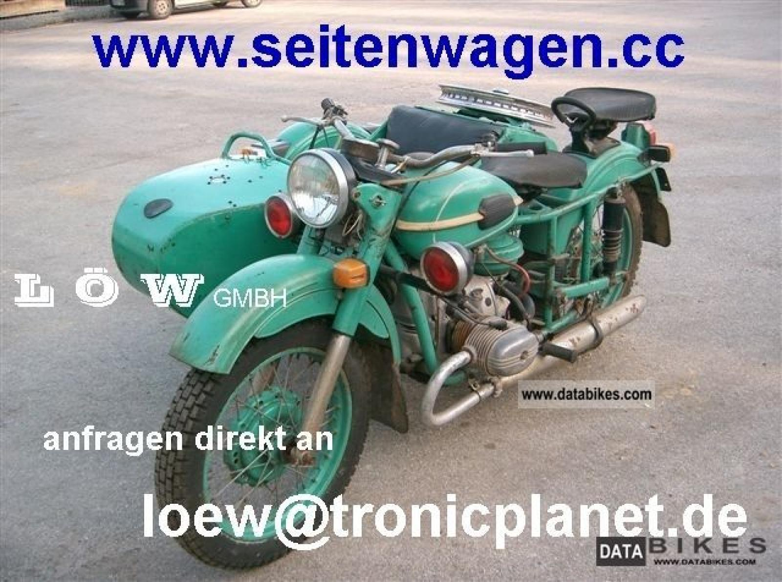 1980 Ural M-63 (with sidecar) #2